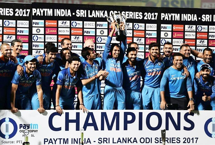 2017: A glorious Year for Team India