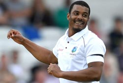 West Indies topples Bangladesh at 62 for 6 by end of Day 2