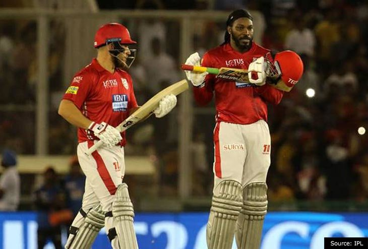 Gayle makes Sunrisers Hyderabad face first fall in IPL 2018 tournament