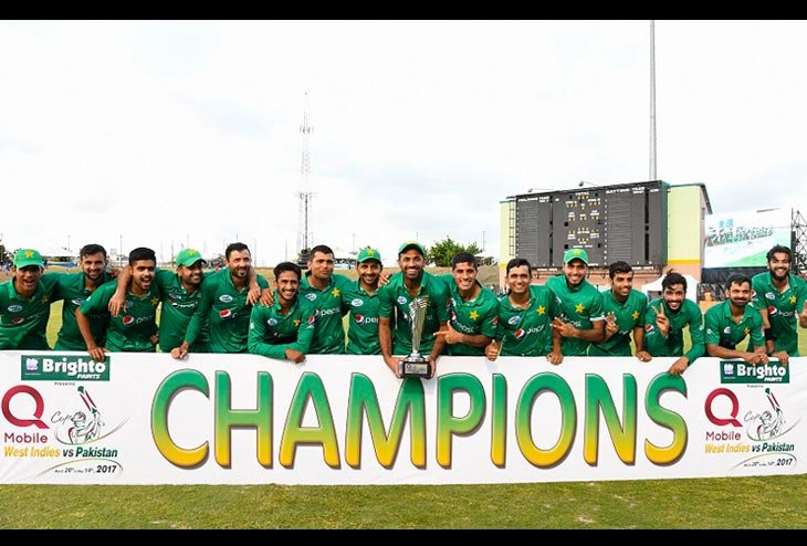 Pakistan nicks ODI series from West Indies in Style