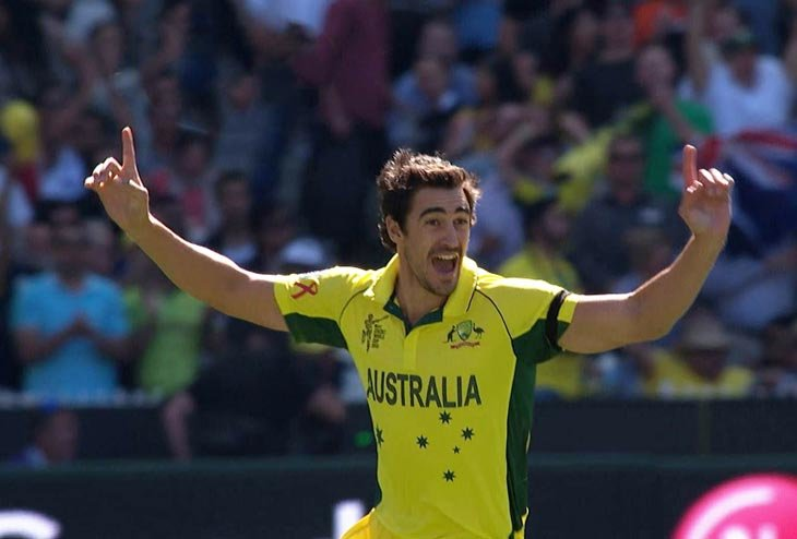 Mitchell Starc and Chris Lynn named in 15-men squad to Champions Trophy
