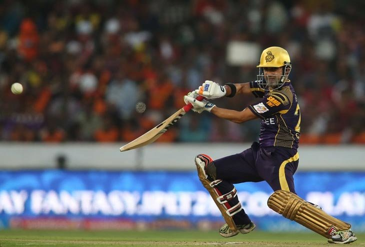 KKR all set to tussle with Gujarat Lions on home pitch of Eden Garden
