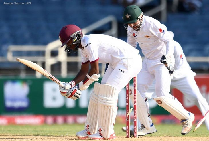 Yasir Shah nicks four wickets Toppling West Indies Openers