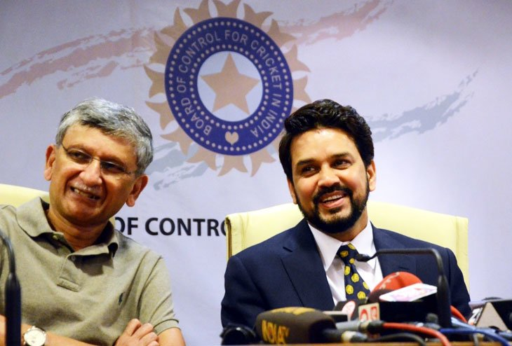 Supreme Court removes Anurag Thakur and Ajay Shirke from BCCI designations