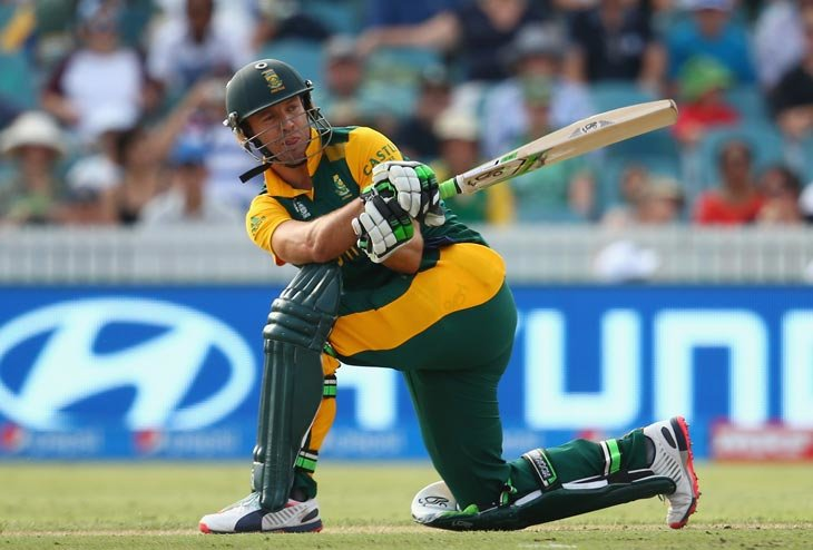 De Villiers salvages early collapse in South Africa batting