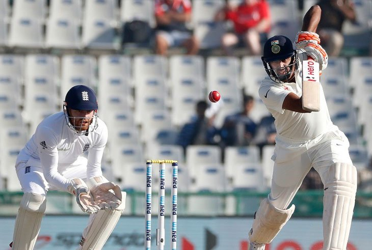 Ashwin and Jadeja's strike put India ahead by 71 on Day 3 at Mohali