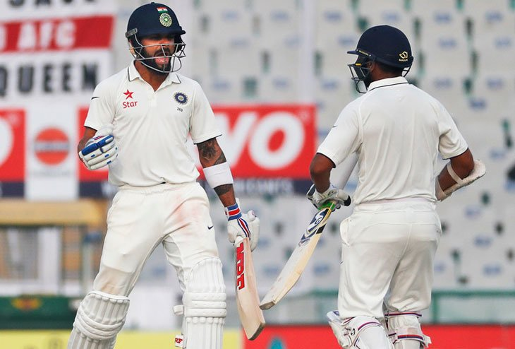India nicks easy Win by 8 wickets in Mohali
