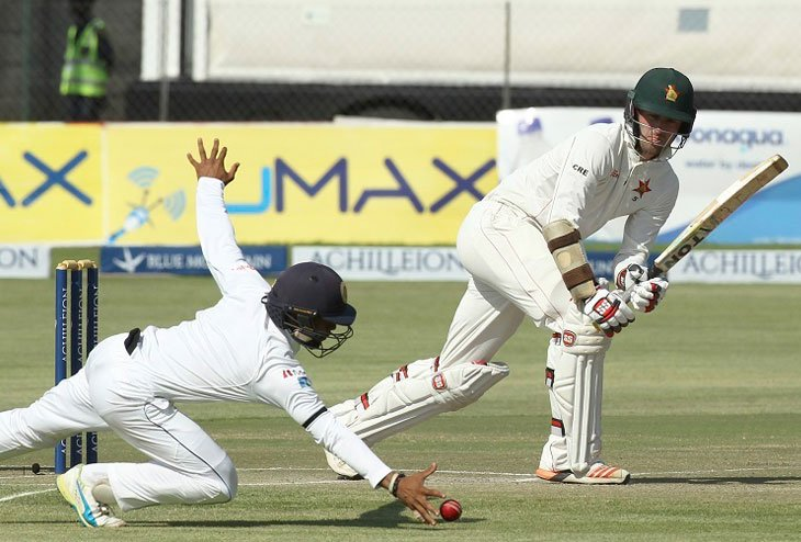 Zimbabwe steers its inning steadily to scale 504 by Sri Lanka