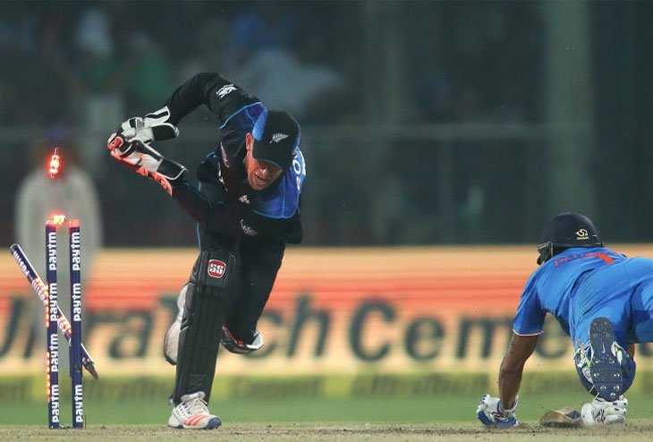 New Zealand nicks first Victory in its Tour, defeats India by 6 runs