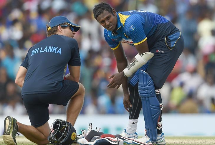 Skipper Angelo Mathews ruled out of T20 Series with Australia
