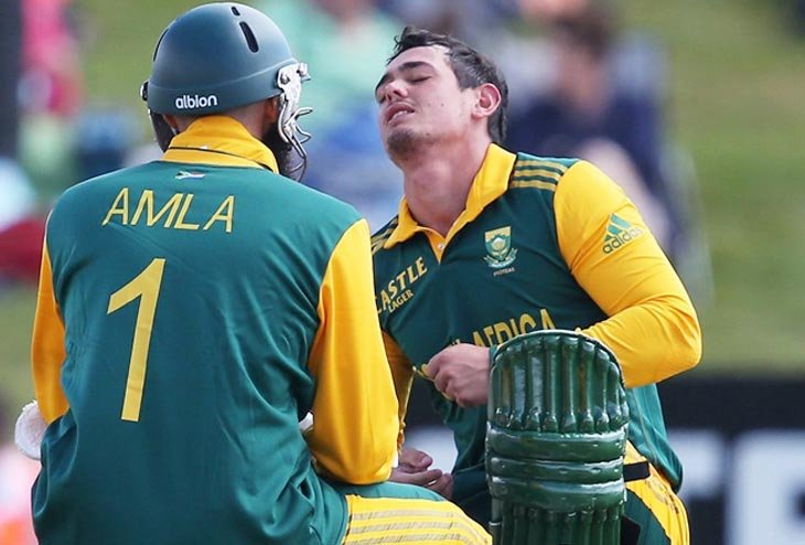 South Africa let go Quinton de Kock over wrist injury