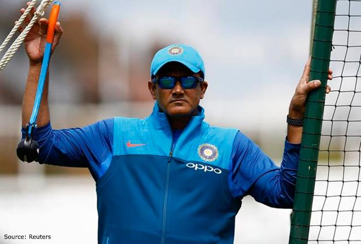 Anil Kumble requested to continue coaching until West Indies tour