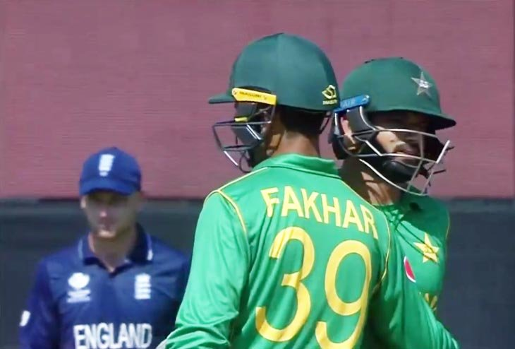 Pakistan beat England in Champions Trophy Semifinal