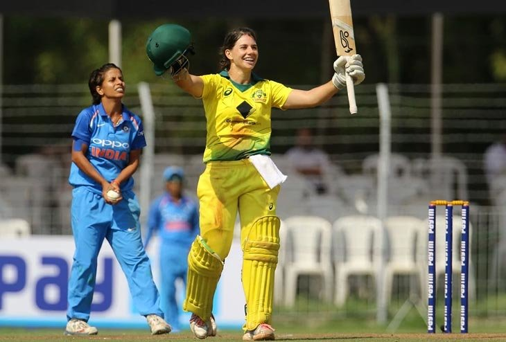 Australia Women thrashes India Women at Vadodara