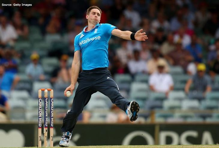 Injury ousted Chris Woakes off Champions Trophy campaign