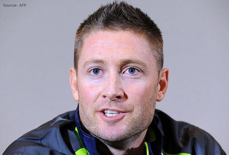 """""""It needs to be led from Steve Smith, the captain""""—Michael Clarke"""