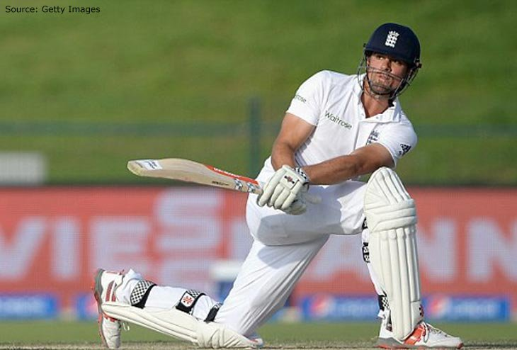 Cook powers up England's campaign on Day 2 of Boxing Day Match