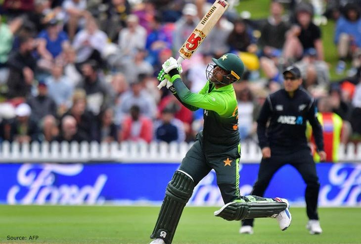 Pakistan levels T20 series winning against New Zealand at Auckland