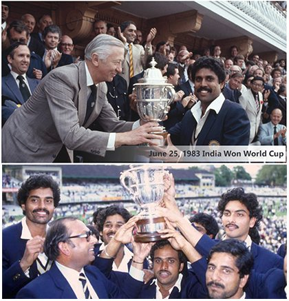 Who was declared man of the match in 1983s cricket world cup and for what — pic 1