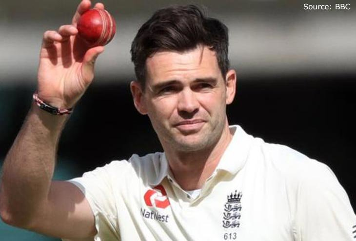 James Anderson selected as England Vice-captain for Ashes