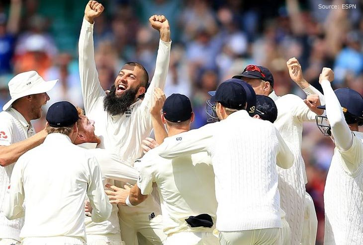 England leads Test series by 2-1 winning Third match at Oval