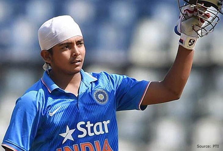 Prithvi Shaw and Shubham Gill to lead India U19 in New Zealand