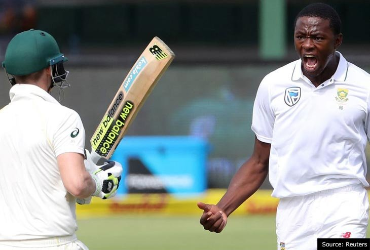 Kagiso Rabada slapped with two-match suspension for inappropriate gesture