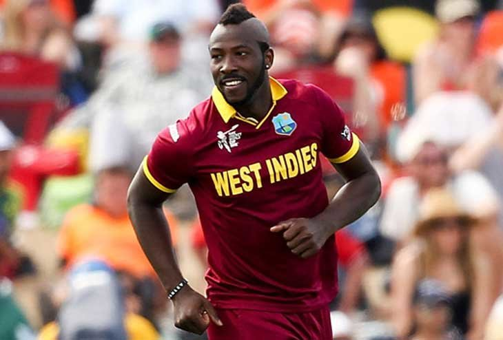Andre Russell back to business after a Year-long ban
