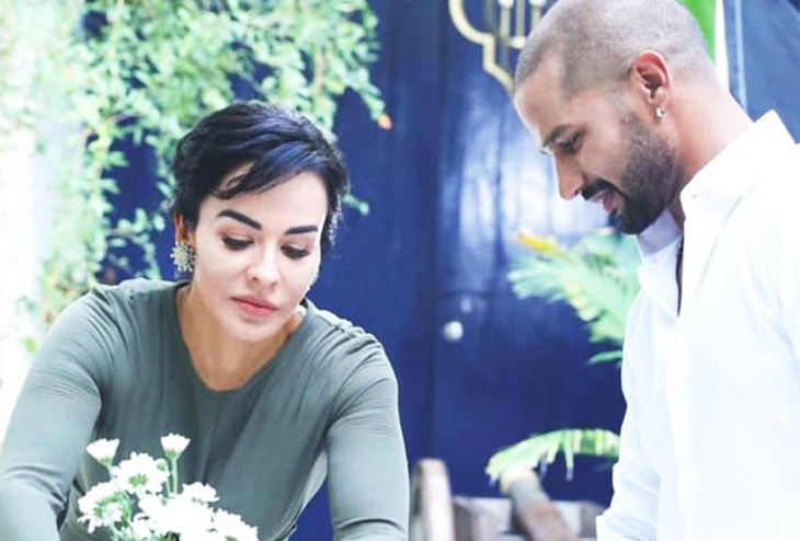 Shikhar Dhawan and Wife taking life forward with DaOne Home the Décor Brand
