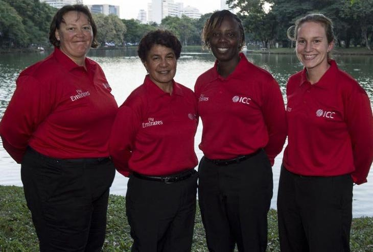 Breaking the umpiring Glass Ceiling: The top Four