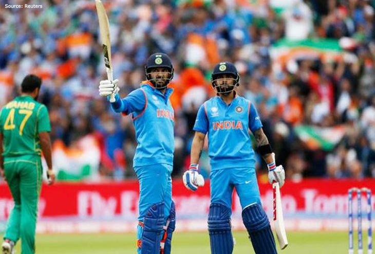 India sets off Champions Trophy Campaign with massive win